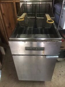 American Range Commercial Gas Cooking Equipment Deep Fryer 70