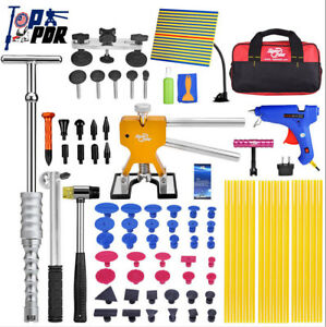 78pcs Pdr Auto Body Tools Dent Master Body Work Repair Kit Remover Puller Panels