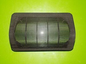 83 84 85 Porsche 944 Oem Center Dash Speaker Cover Grille 477857187 Black