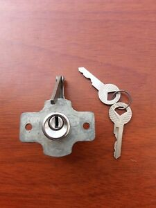Nos Glove Box Lock With Keys 1956 56 Ford Crown Victoria