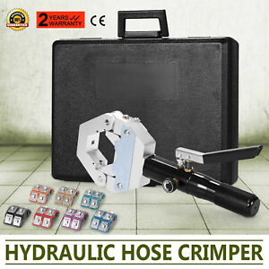 71500 Hydraulic Hose Crimper Tool Kit Air Condtioning Crimper Snap Automotive