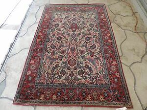 5x7ft Antique Persian Wool Rug