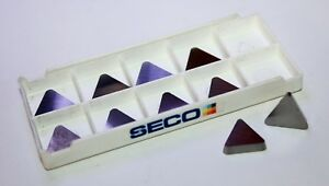 Seco Tpg324f 883 Carbide Turning Inserts lot Of 9
