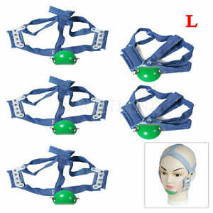 5 Dental High Pull Strap Headgear Facemask Combination Head Caps Large Akyv
