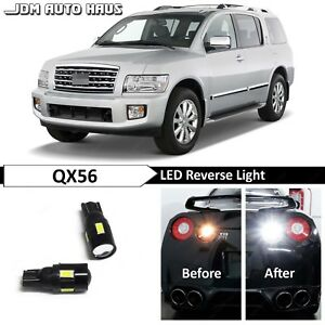 White High Power 921 Reverse Backup Led Lights Bulb Fits Infiniti Qx56 2004 2010