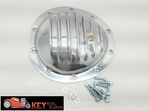 Chevy Gmc Polished Aluminum Differential Cover 10 Bolt 8 5 Truck K10 Front