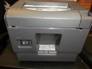 Star Micronics Tsp700 Point Of Sale Thermal Printer