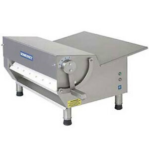 Somerset Cdr 500 Dough Sheeter 1 2 Hp 20 Synthetic Rollers 500 600 Pieces Pe