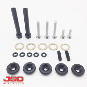 D15 D16 D Series Valve Cover Washer Seal Bolt Nut Kit For Honda Civic 1988 2000