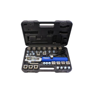 Hydraulic Flaring Tool Set With Jiffy Tite Fitting Mastercool 72485 Flare