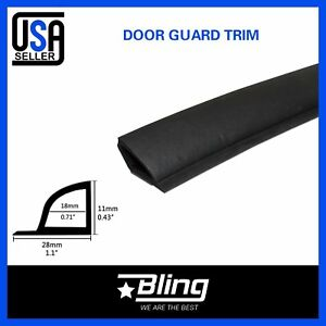 Door Sealing Rubber Trim Car Auto Parts Accessories Edge Weather Stripping 100