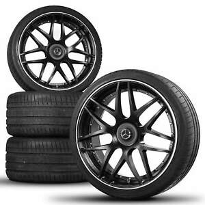 24 Inch Lumma Lr Alloy Wheels Rim Summer Tires F r Mercedes Gle Coup C292