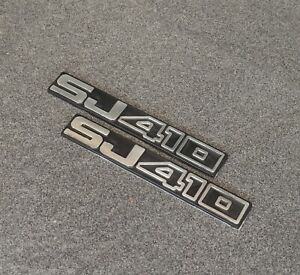 Suzuki Jimny Samurai Sj410 Emblem Badge 3d Decal