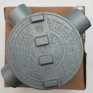 Appleton Electric Grt50 Conduit Outlet Box Hazloc 1 2 Hub Explosion Proof