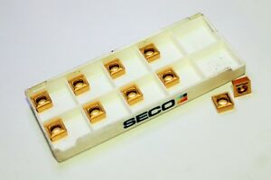 Seco Scgx070308 p2 T200d Carbide Indexable Drilling Inserts lot Of 10