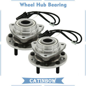 2 Front Wheel Bearings Hub For Chevrolet Blazer S10 Gmc Jimmy Oldsmobile Isuzu