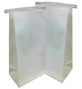 500 Dental Lab Delivery Bags With Tin Tie Closure 11 X 5 5