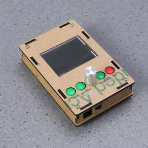 2 4 Tft Mini Portable Pocket Oscilloscope Diy Kit Parts With Probe And Case