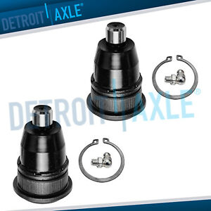 2pc Front Upper Ball Joints For 2002 2007 Chevy Trailblazer Saab 9 7x Gmc Envoy