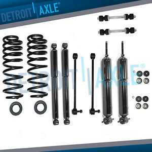 Front Rear Struts Sway Bars Suspension Conversion Kit Expedition Navigator