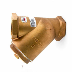 Nibco T 221 a Class 125 Bronze 3 Y strainer Fnpt Connection