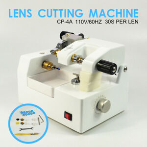 Cp 4a Optometry Eyeglass Optical Lens Cutter Cutting Milling Mac