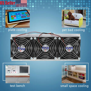 Nuclear Thermoelectric Peltier Refrigeration Cooling System Semiconductor Cooler