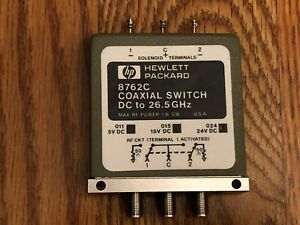 Hp 8762c Coaxial Switch Dc To 26 Ghz