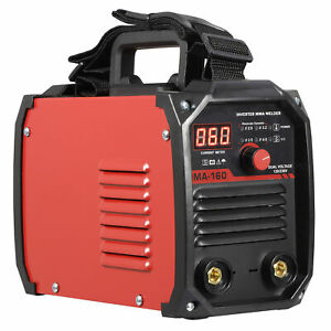 110v 220v Dc Inverter Welder Mini Handheld Arc Welding Machine Mma 20 160a Igbt