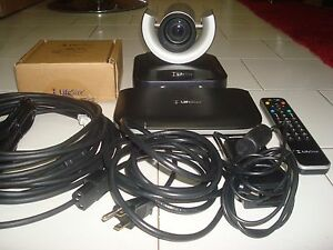 Lifesize Passport Hd Video Conferencing W ptz Camera micpod remote adapter cable