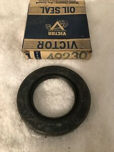 Nos Victor 49230 Pinion Seal Chrysler Desoto Plymouth Differential 1930 Mopar 50