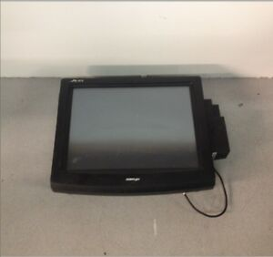 Posiflex Jiva Tp 8015 Point Of Sale Terminal W Sd 200 Reader For Parts Repair