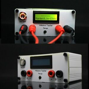 Digital Precision Milliohm Meter Four wire Digital Micro ohm Meter Resistance