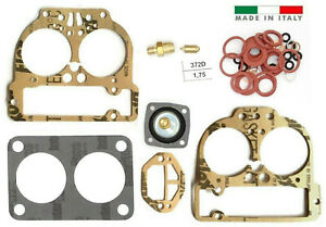 Weber 40 42 44 Dcnf Carburetor Repair Kit Fits 4bolt Or 5bolt Top Made In Italy