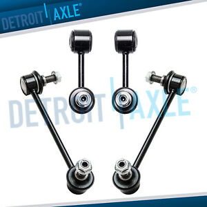 Front Rear Sway Bar Link Kit For 06 09 Ford Fusion Mercury Milan Lincoln Mkz