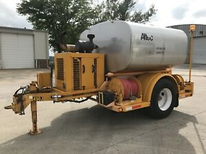 Altec Hliw 1600t Trailer Mounted Insulator Diesel Power Pressure Washer