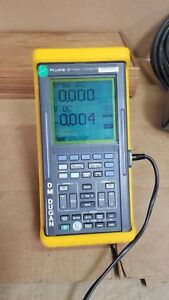 Fluke 97 Scopemeter 50mhz Tested Good And Complete