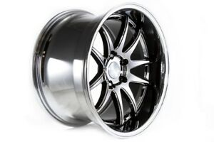 18x10 5 Aodhan Ds02 5x114 3 22 Black Vacuum Wheels set 4