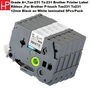 Iph compatible With Tze 231 Tz 231 Brother Printer Label Ribbon