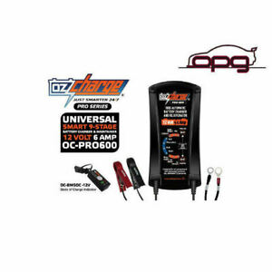 Ozcharge Proseries 12v 6amp Battery Charger Maintainer Trickle Harley Davidson