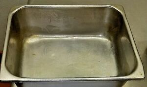 Stainless Steel Steam Table Hotel Pan 1 2 Size Vollrath s Heavy Duty Inc 6