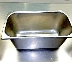 Stainless Steel Steam Table Hotel Pan 12 x6 Xsize Vollrath Heavy Duty inc 6