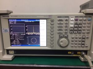 Rsa3408b Tektronix Real Time Spectrum Analyzer dc 8ghz Opt 02 10 21