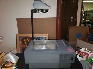 Vintage 3m Model 955 Overhead Transparency Projector Tested And Working 600 Watt