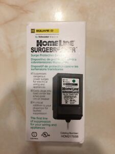 Square D Homeline Surge Breaker Brand New In Box