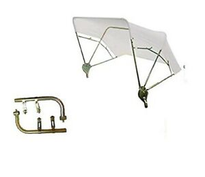 Case Ih Ford Tractor Umbrella Buggy Top 3 Bow 48 White W Fender Mounts