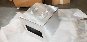 Schaefer Electrical Enclosures Spal 202020 766 Stainless Steel Custom Pull Box