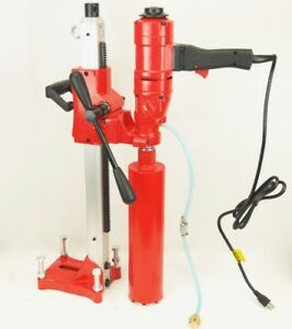 New 4 Bluerock Core Drill 2 Speed W Stand Concrete Coring Model 4 Z 1ws