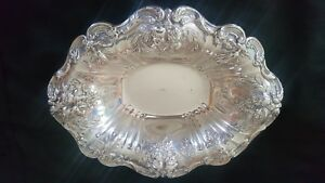 Reed Barton Sterling Silver Francis 1st Footed Bowl