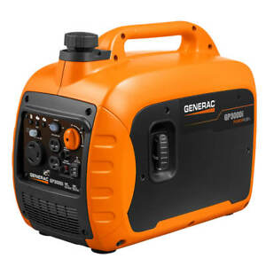 Generac Gp3000i 3 000 watt Gas Powered Recoil Start Inverter Generator 7129